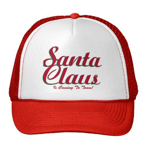 ¡Papá Noel! - Gorra del navidad del diseñador