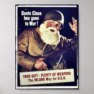 Papá Noel ha ido a la guerra Poster