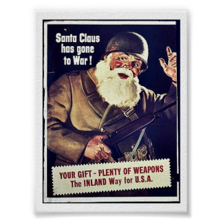 Papá Noel ha ido a la guerra Posters