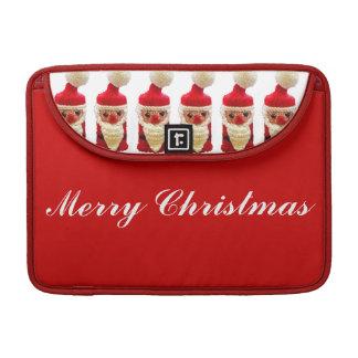 Papá Noel hecho punto Funda Para Macbooks
