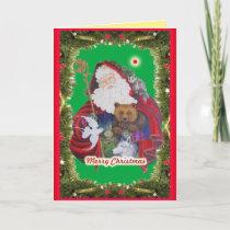 Papa Noel Holiday Card