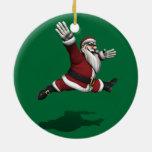 Papá Noel Jete magnífico Adornos De Navidad