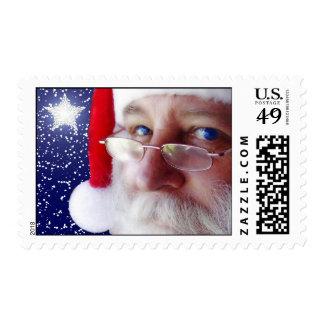 Papá Noel le está mirando 2 Sello