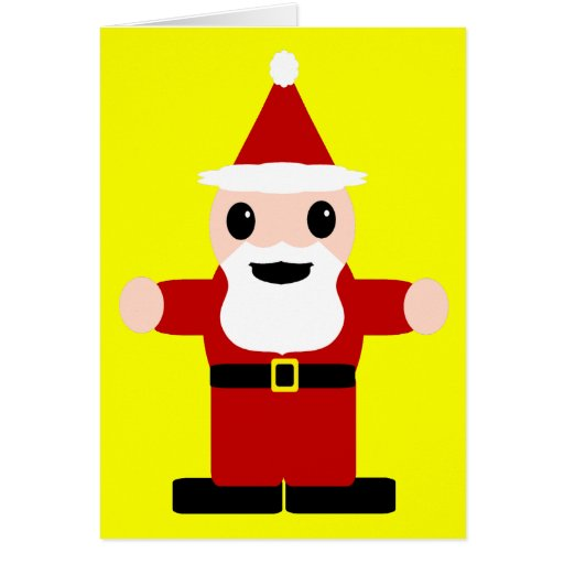 Papá Noel lindo Tarjetón