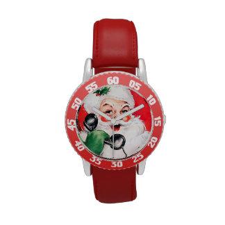 Papá Noel llamada Relojes De Mano