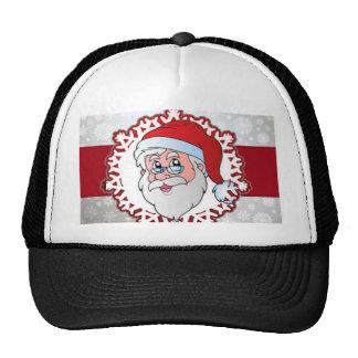 Papá Noel, marco rojo Gorro