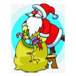 Papá Noel Membrete