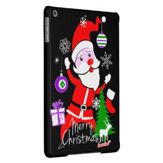 Papá Noel Merry Christmas by Cisco de fra Evans ™ Funda Para iPad Air