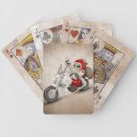 Papá Noel motorizado Cartas De Juego