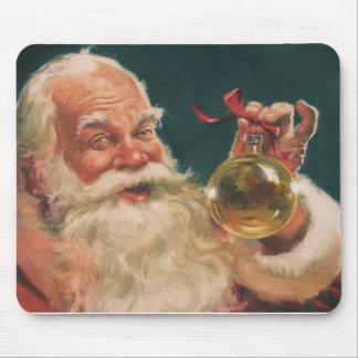 Papá Noel mousepad. Alfombrillas De Ratón