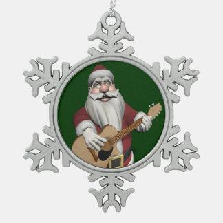 Papá Noel musical que juega canciones del navidad Adorno