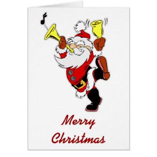 Papá Noel musical Felicitacion