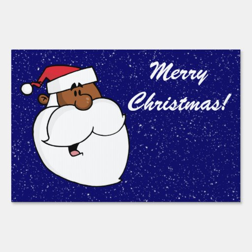 Papá Noel negro