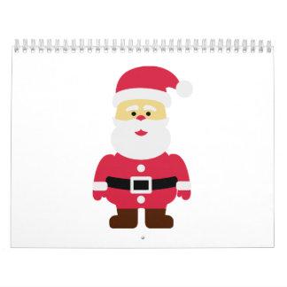Papá Noel Nicholas Calendario De Pared