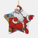 Papá Noel Ornamento Para Reyes Magos