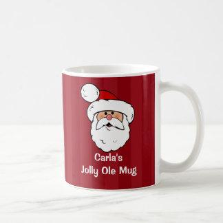 Papá Noel personalizado Taza Clásica
