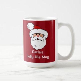 Papá Noel personalizado Tazas