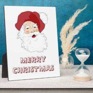 Papá Noel Placas Para Mostrar