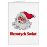 Papá Noel polaco #2 Tarjeton