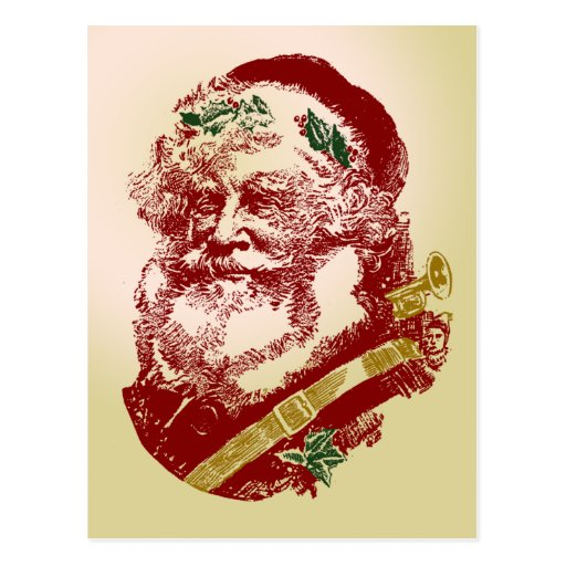 Papá Noel Postales