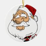 Papá Noel principal grande Ornamentos De Reyes