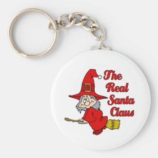 Papá Noel real Llaveros Personalizados