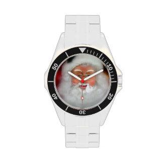 Papá Noel Reloj De Mano