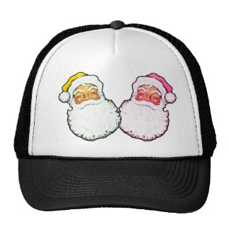 Papá Noel rosado Gorra