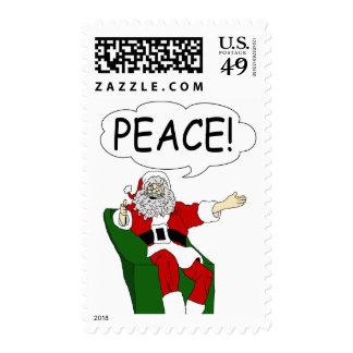 Papá Noel: Sello de la paz