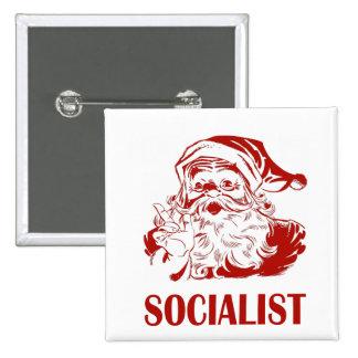 Papá Noel - socialista Pin