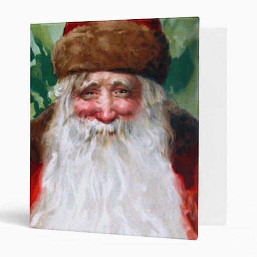 """Papá Noel sonriente Carpeta 1"""""""