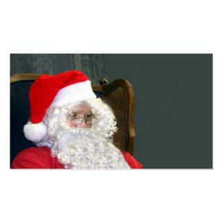 Papá Noel Tarjetas De Visita