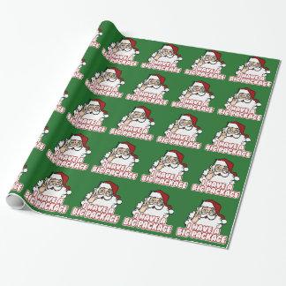 Papá Noel tiene un paquete grande