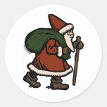 Papá Noel (trajes rojos) Pegatina