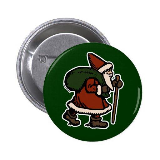 Papá Noel (trajes rojos) Pins