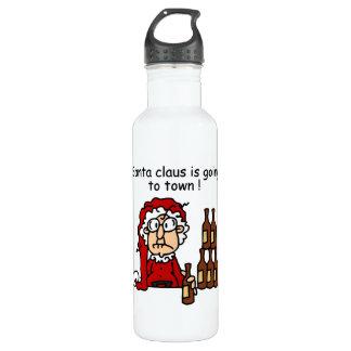 Papá Noel va a la ciudad