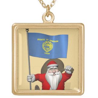 Papá Noel visita el estado del castor de TheUS Colgantes Personalizados