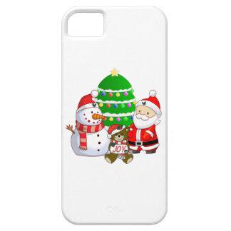 Papá Noel y amigos iPhone 5 Cobertura