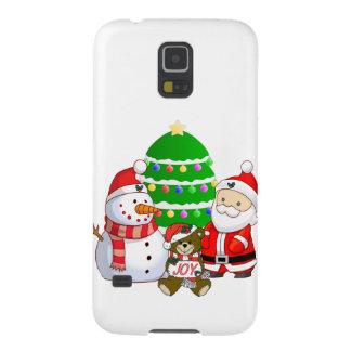 Papá Noel y amigos Carcasas De Galaxy S5