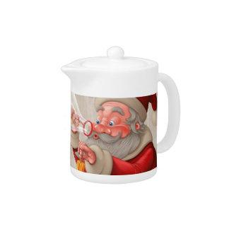 Papá Noel y el jabón de las burbujas