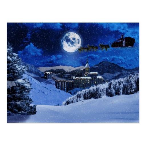 Papá Noel y el Polo Norte Tarjeta Postal