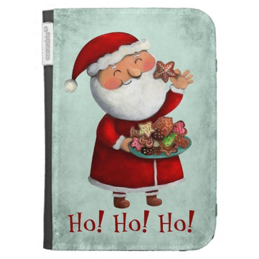 Papá Noel y galletas