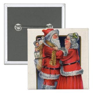 Papá Noel y la señora Pin