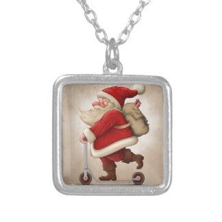 Papá Noel y la vespa del empuje Grimpolas