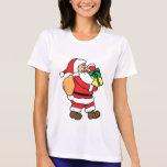 ¡Papá Noel y los presentes.! Camisetas
