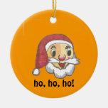 Papá Noel y ornamento de Belces de navidad Ornamento De Navidad