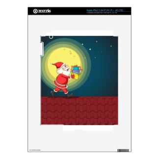 Papá Noel y regalos iPad 3 Skins