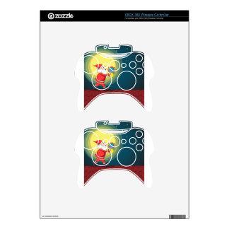 Papá Noel y regalos Mando Xbox 360 Skins