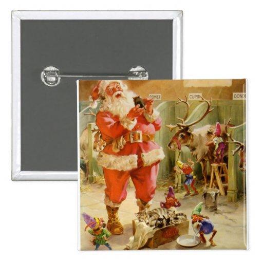 Papá Noel y sus duendes en los establos de Polo No Pin