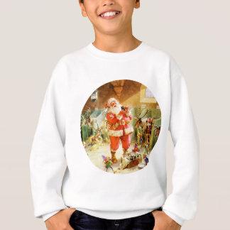 Papá Noel y sus duendes en sus establos de Polo